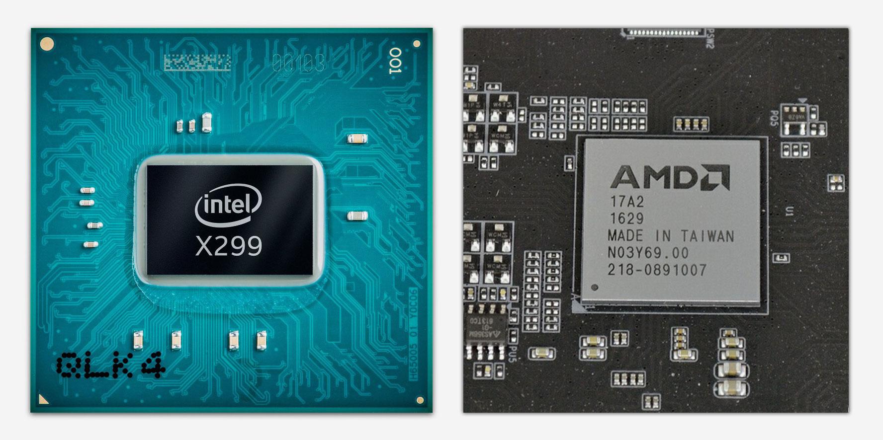 Чипсеты Intel и AMD