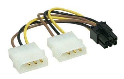 Переходник Molex-PCI-E
