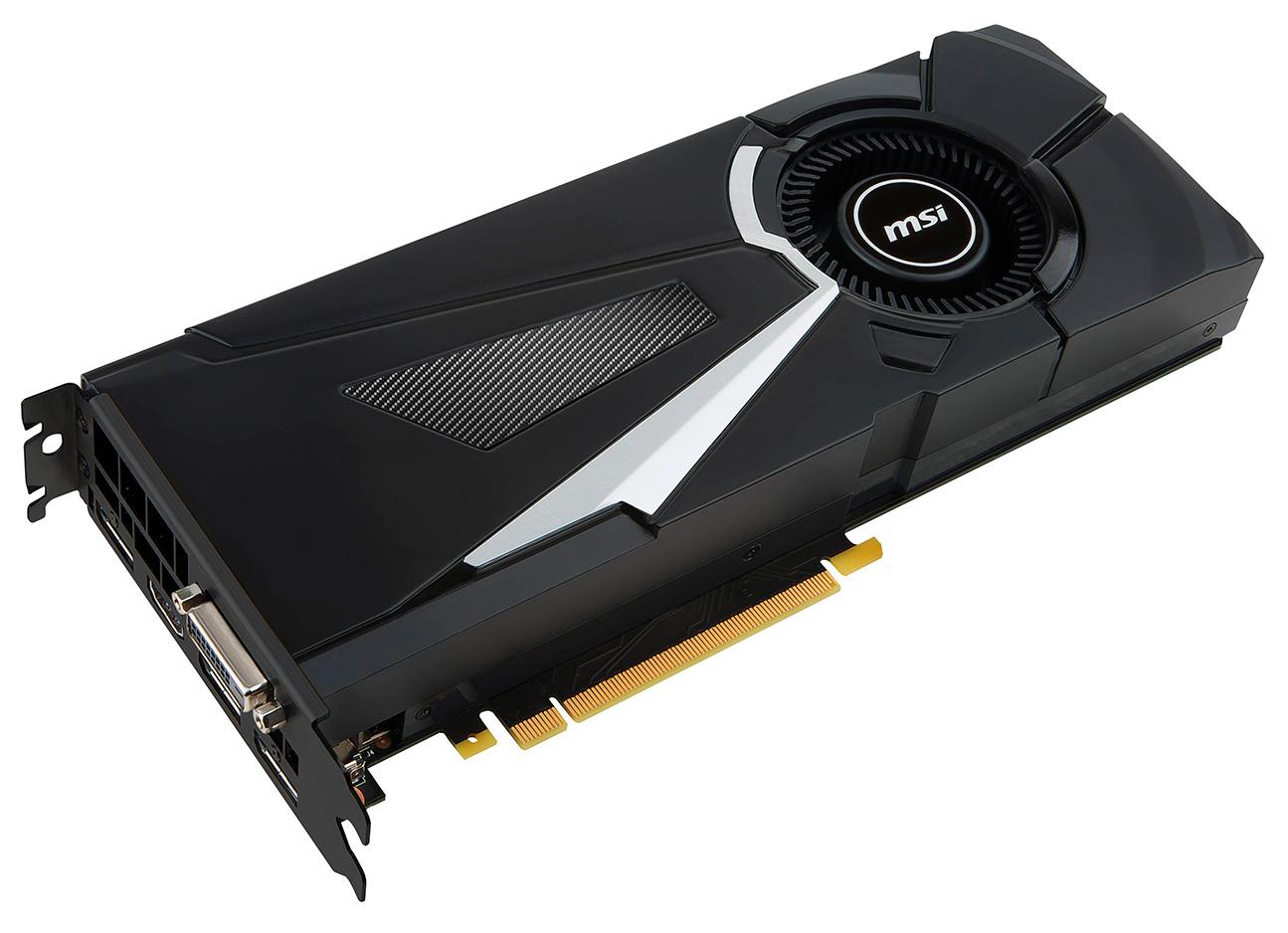 MSI GTX 1080 Aero