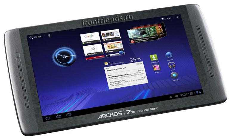Стерео-планшет Archos