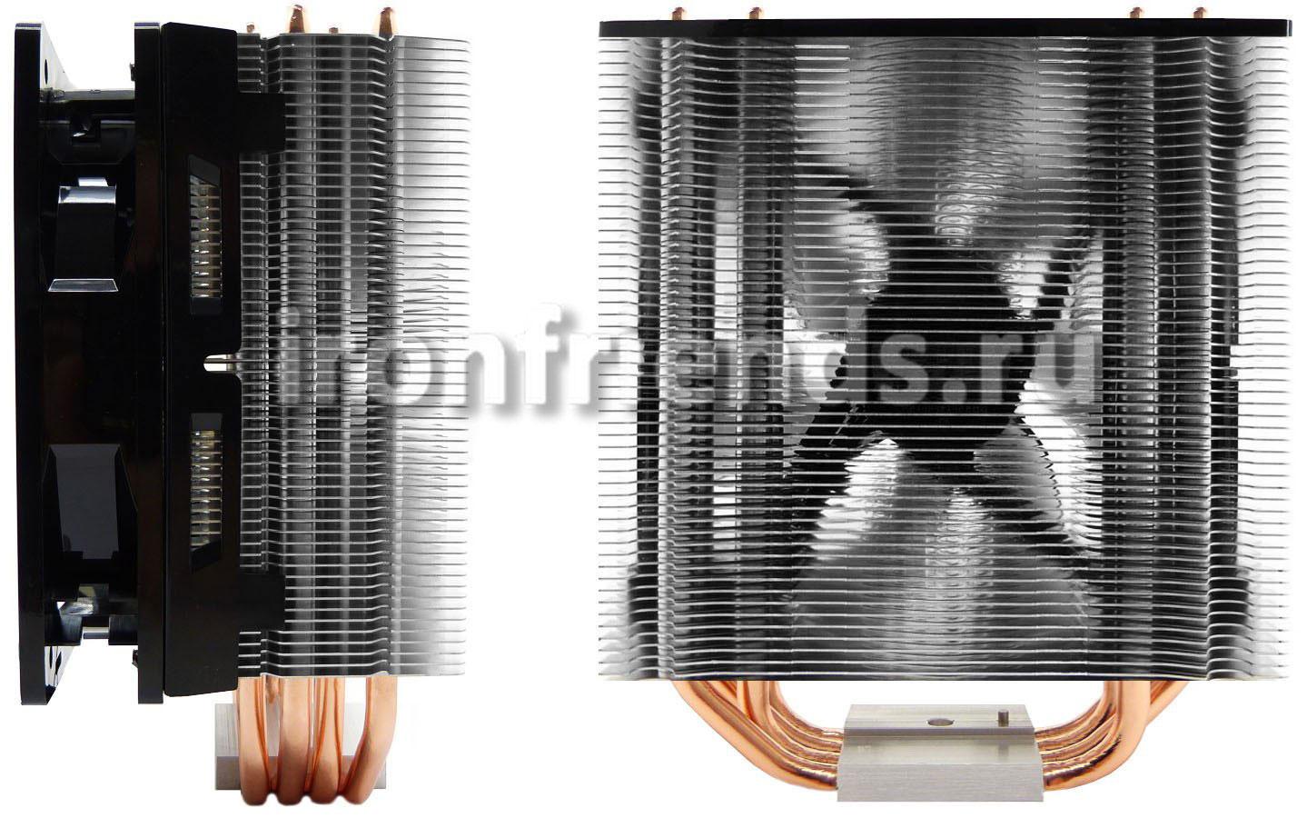 Радиатор из тонких алюминиевых пластин