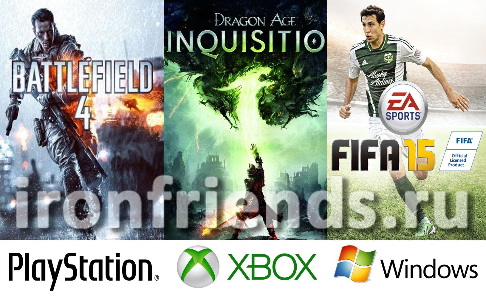Игры Electronic Arts