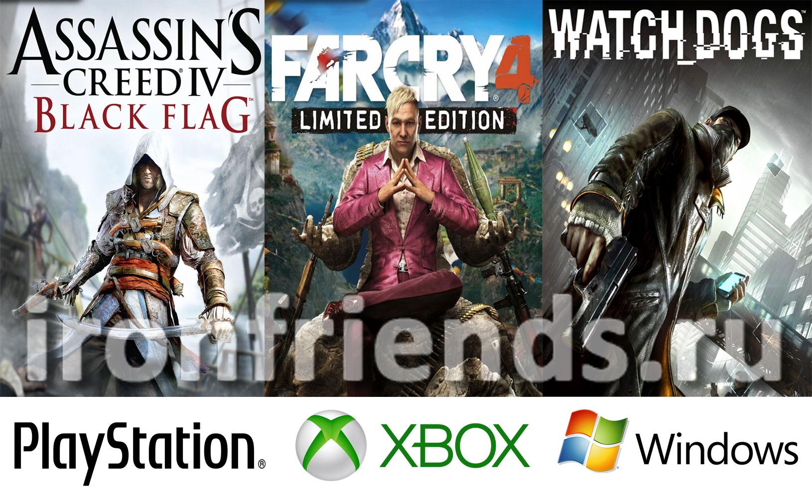 Игры Ubisoft