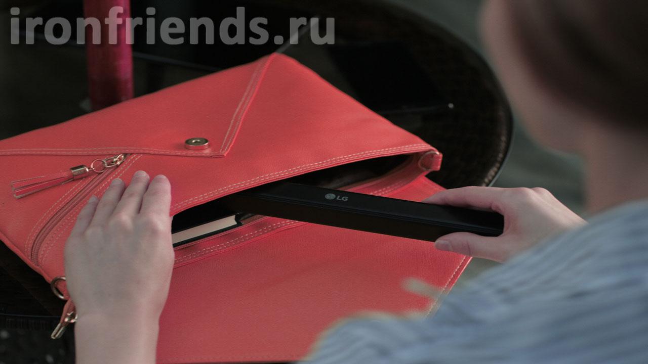 Клавиатура LG Rolly KBB-700 в сумочке