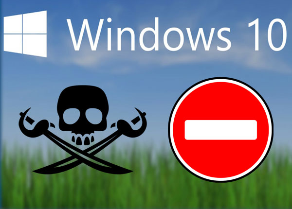 Windows 10 против пиратства