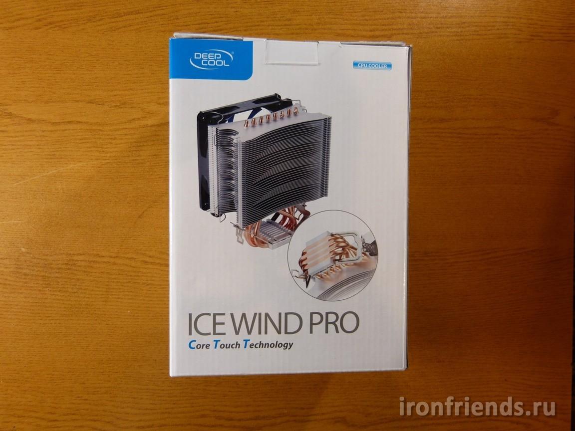 Упаковка DeepCool ICE WIND PRO