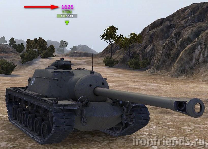 Рейтинг эффективности над танками