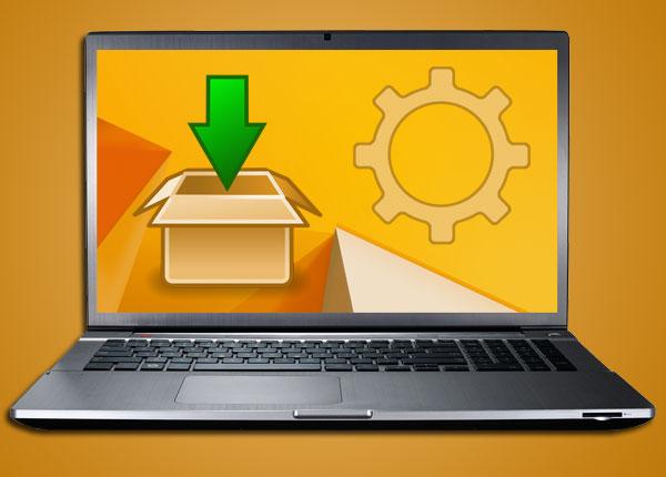 Установка драйверов на ноутбук
