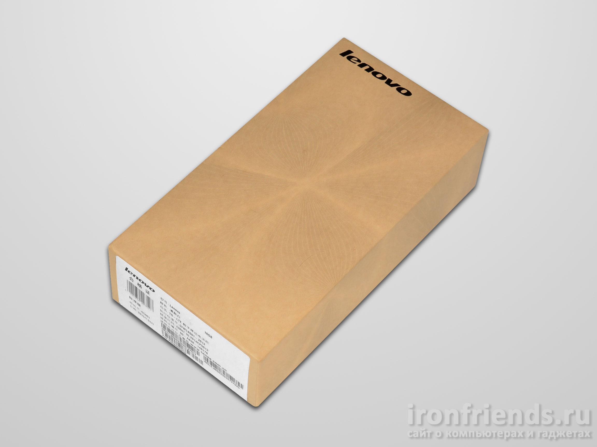 Упаковка смартфона
