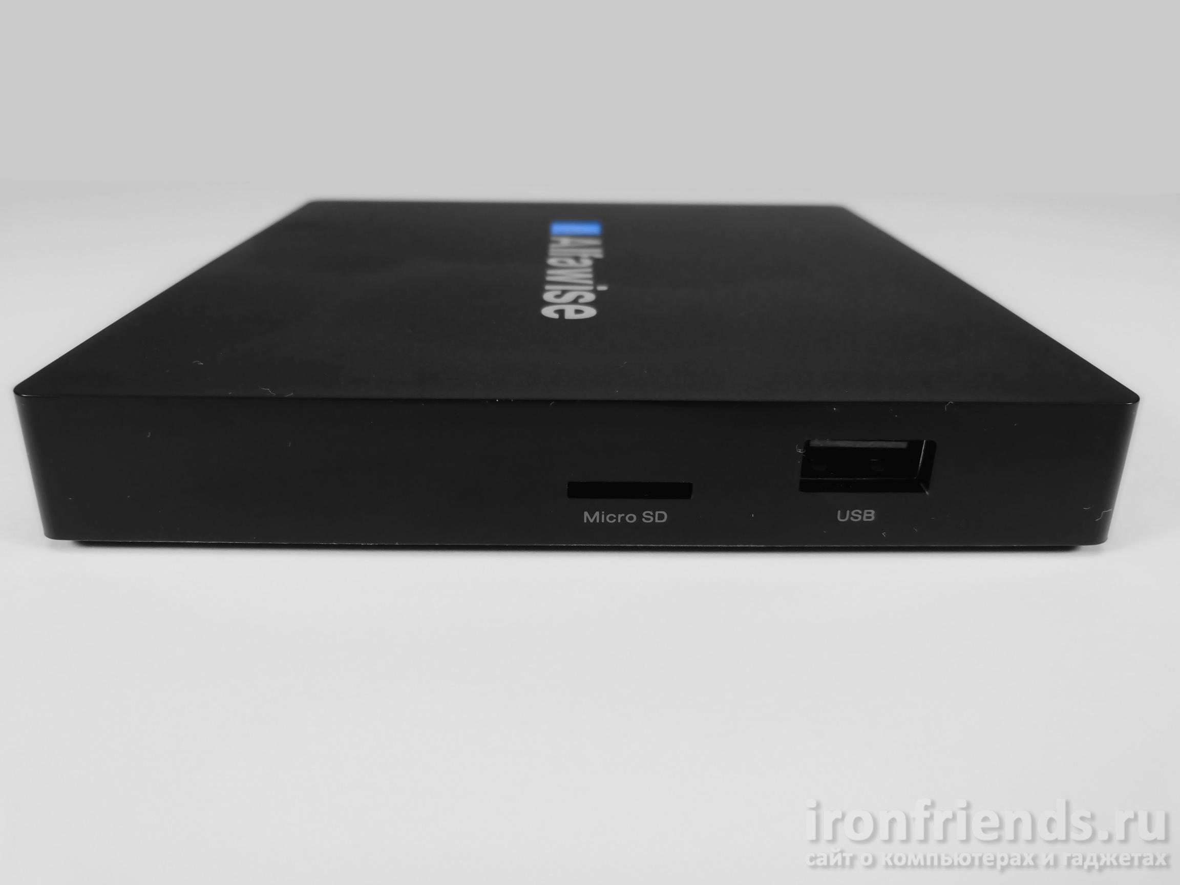 Разъемы Alfawise S92