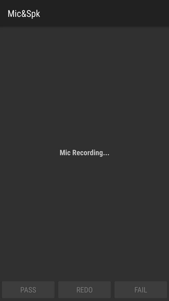 Тест основного микрофона