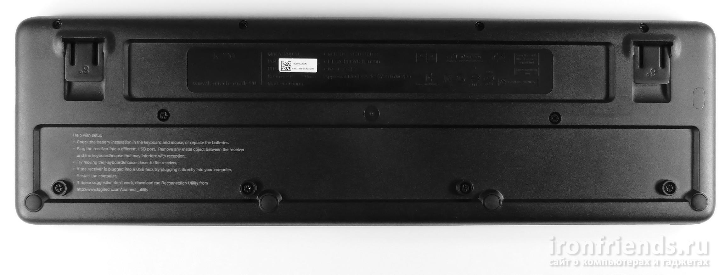 Клавиатура Logitech MK220
