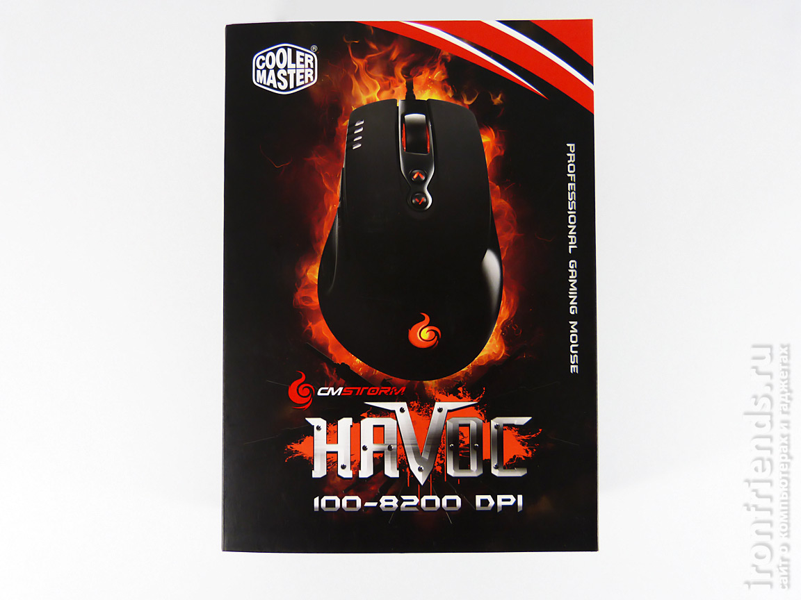 Упаковка Cooler Master Storm Havoc