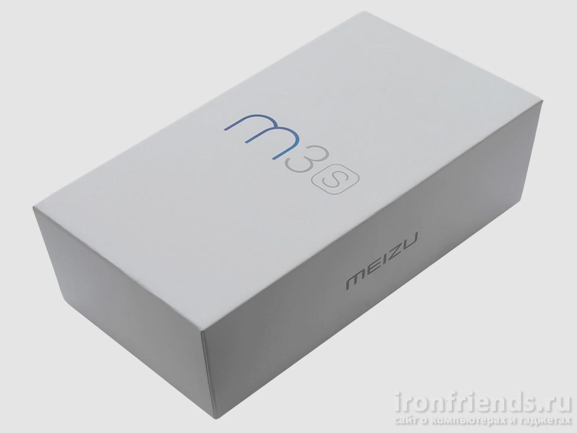 Упаковка Meizu M3s
