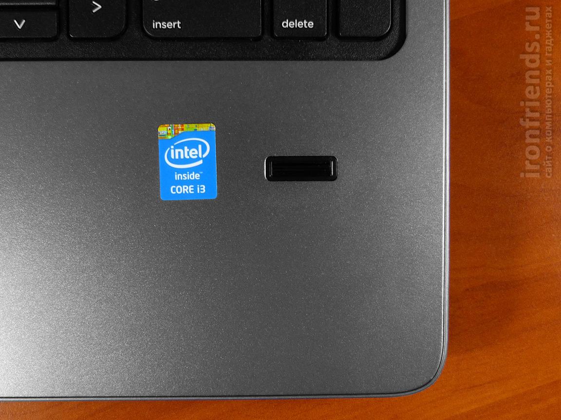 Сканер отпечатков HP ProBook 450