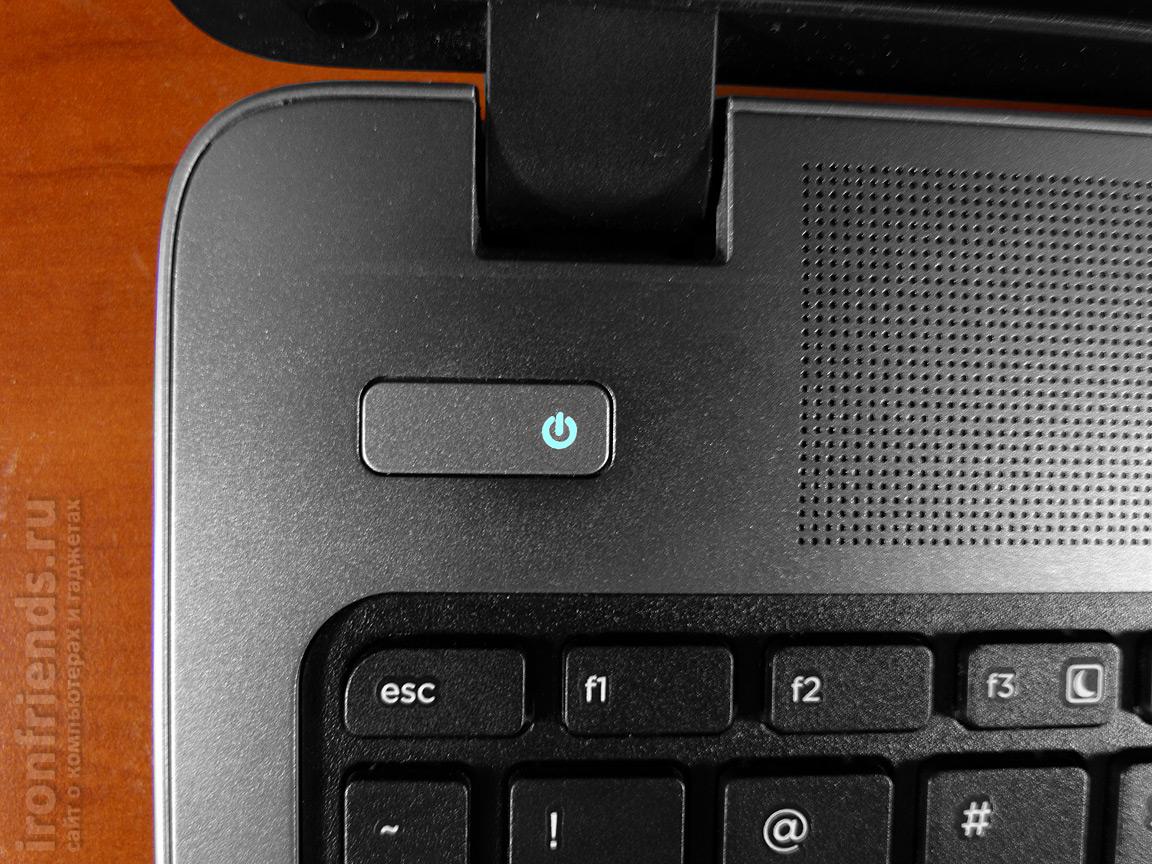 Кнопка включения HP ProBook 450