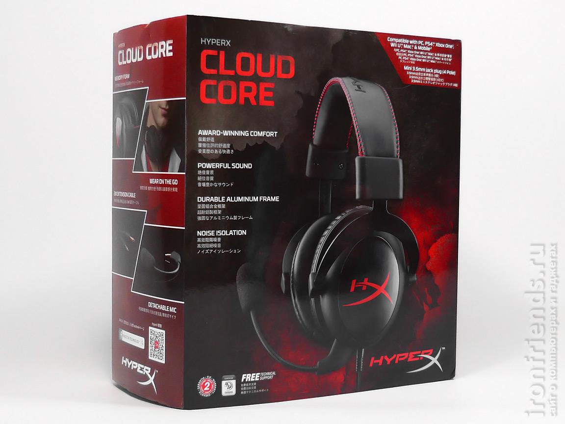 Упаковка HyperX Cloud Core