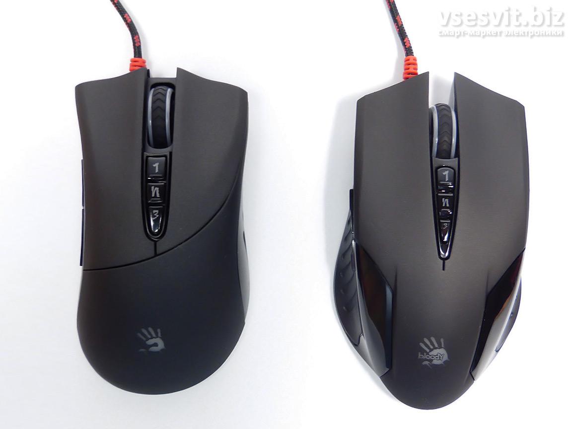 Мышь A4Tech Bloody V3MA и V5M