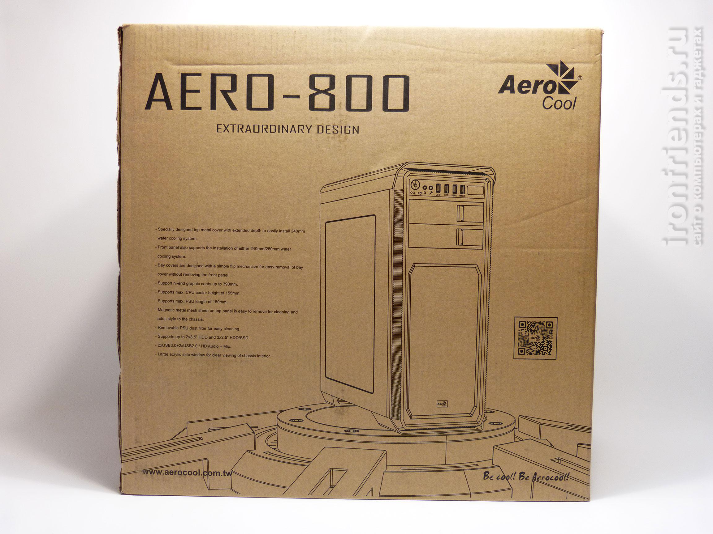 Упаковка AeroCool Aero-800