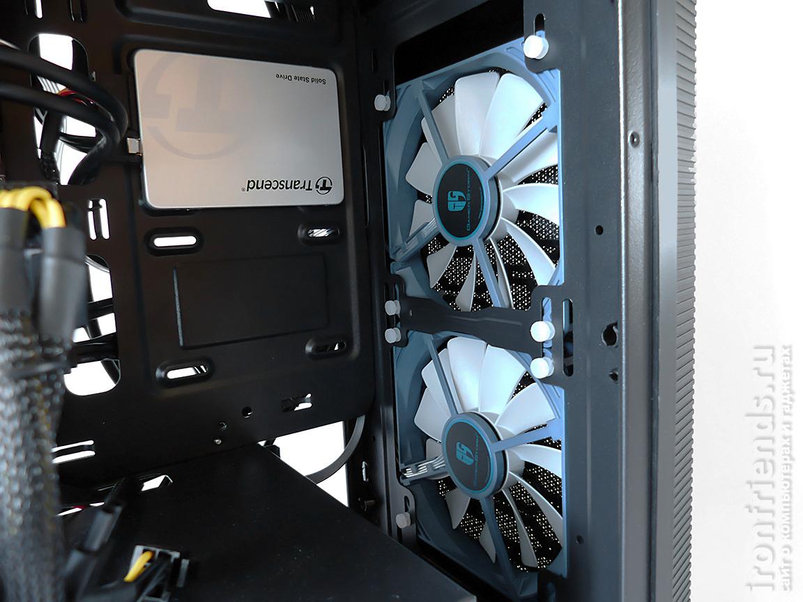 Передние вентиляторы Deepcool GS120