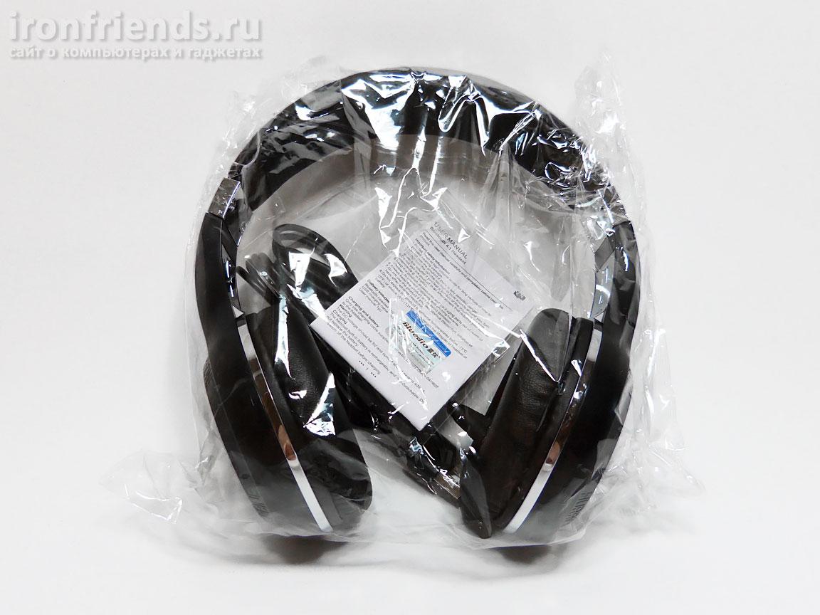 Упаковка Bluedio H+