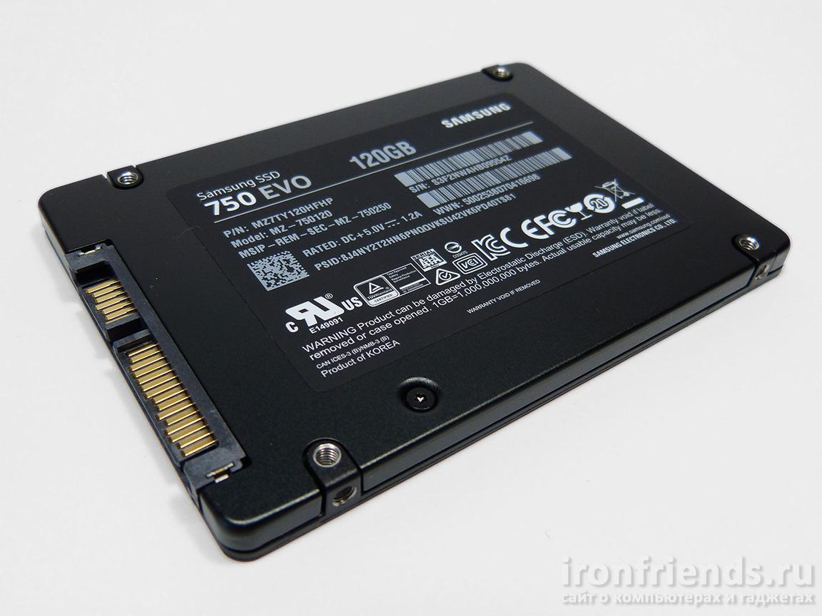 Samsung SSD EVO 750