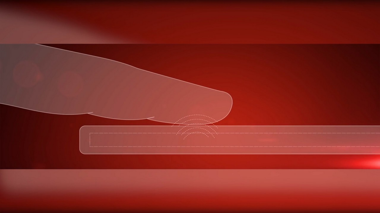 Биометрические датчики в экране