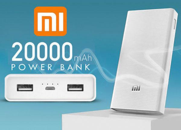 Xiaomi Power Bank 20000