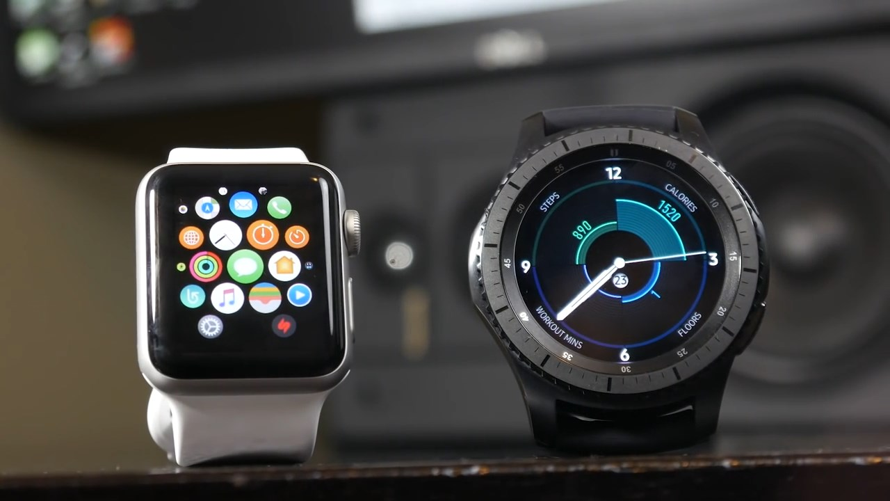 Samsung Watch и Apple Watch