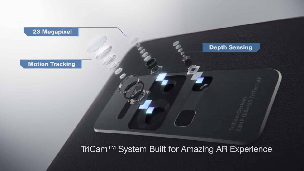 Смартфон с тремя камерами