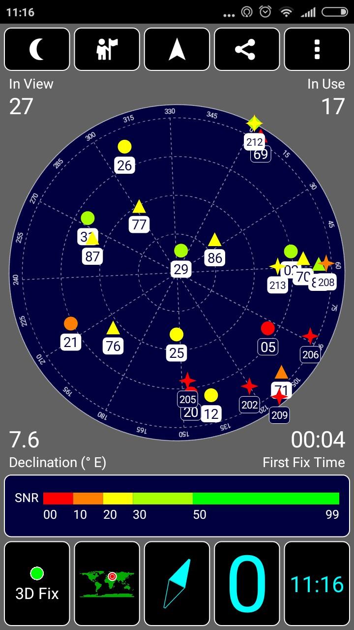 Работа GPS на Xiaomi Redmi 4X
