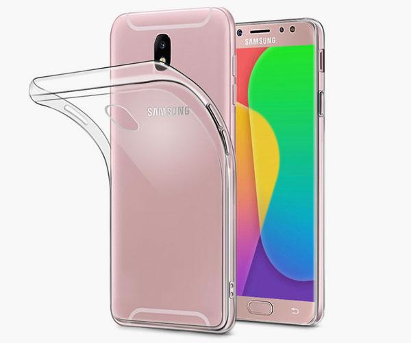 Прозрачный силиконовый чехол для Samsung Galaxy