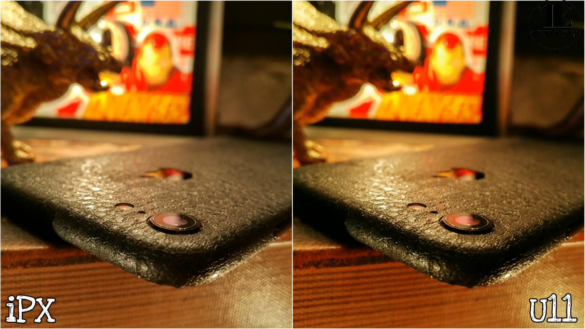 Сравнение камер iPhone X и HTC U11