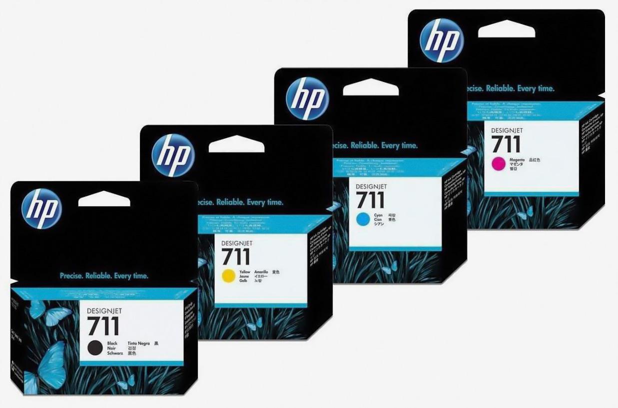 Оригинальные картриджи HP