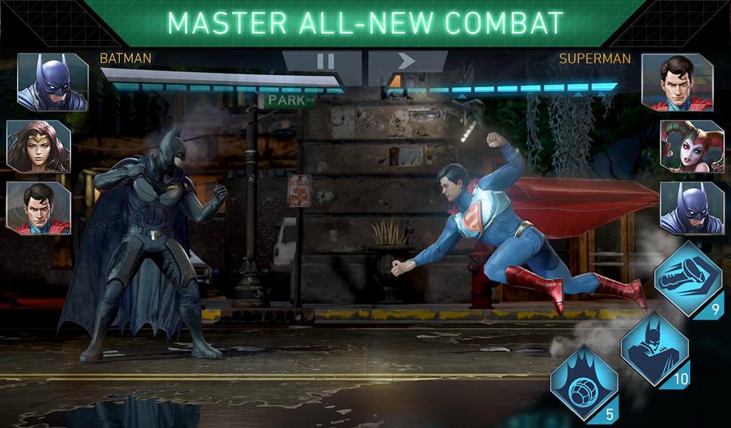 Игра Injustice 2
