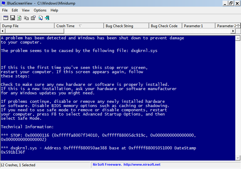 Blue Screen in XP Style