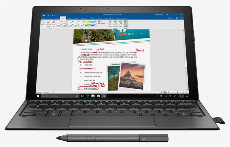 Ноутбук HP на Snapdragon 835