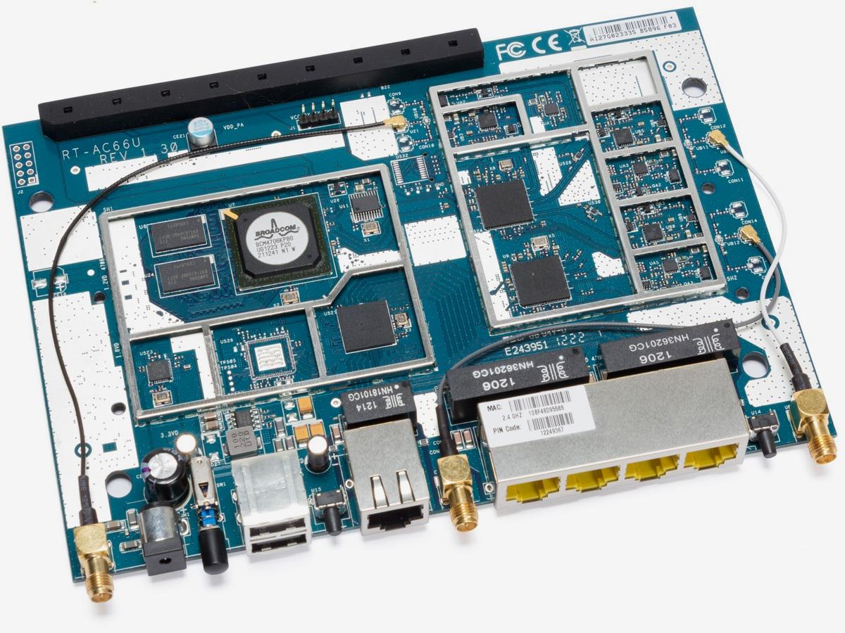 Плата ASUS RT-AC66U B1