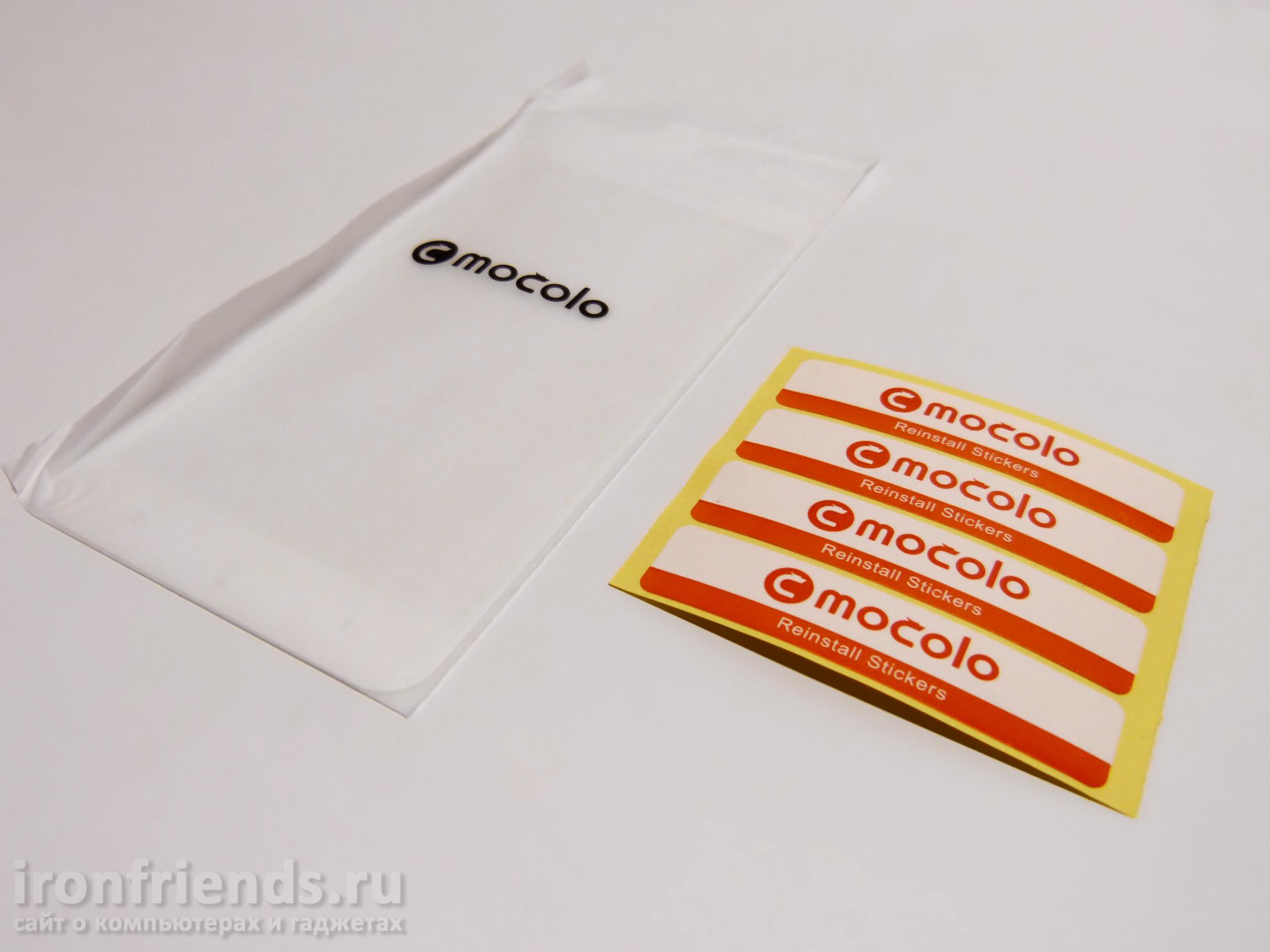 Комплектация Mocolo для Xiaomi Redmi 4X