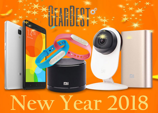 Gearbest New Year 2018