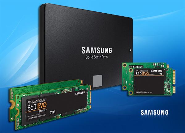 Samsung SSD 860 EVO и PRO