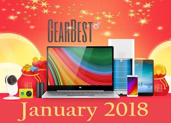 Gearbest January 2018