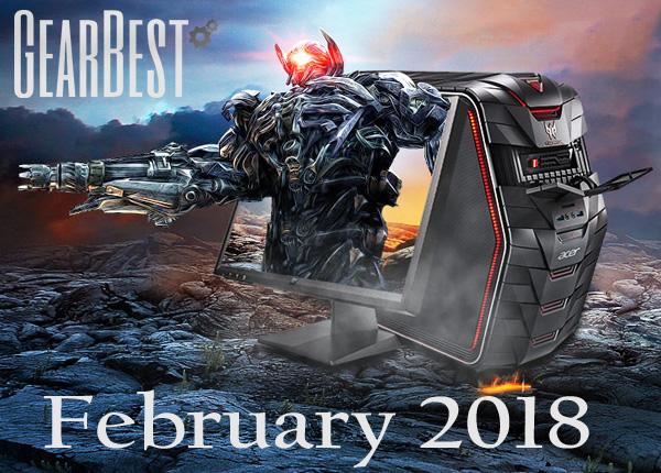 Gearbest February 2018