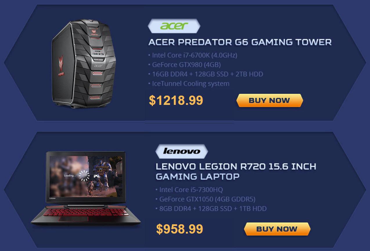 Acer Predator G6 Gaming