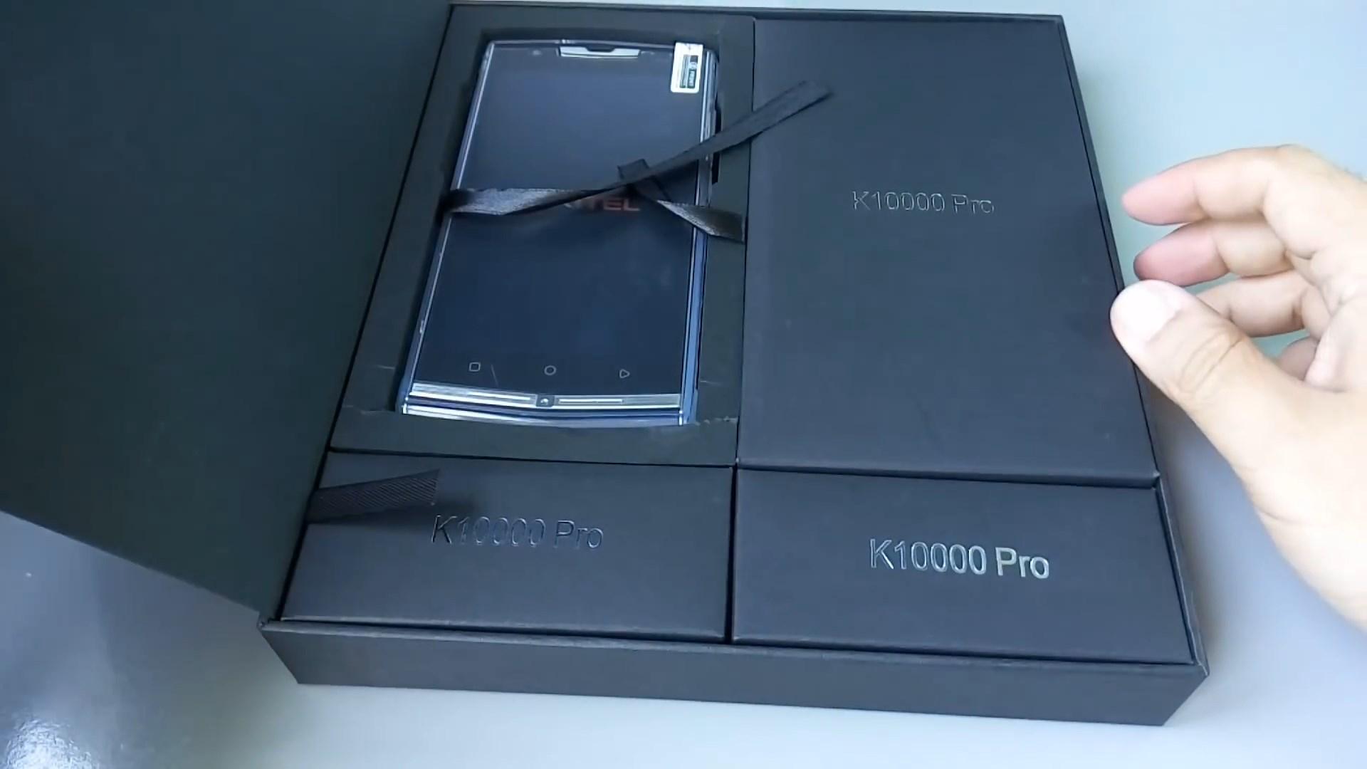 Комплектация Oukitel K10000 Pro
