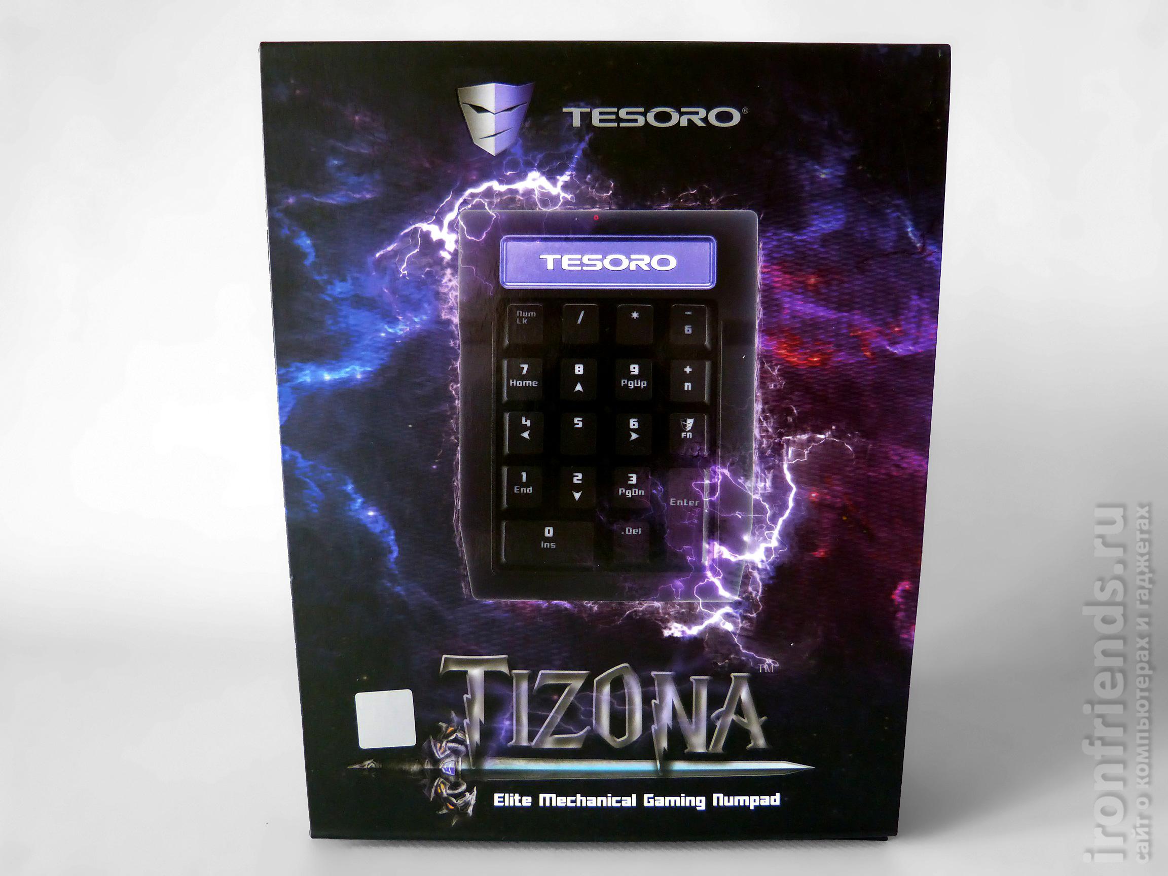 Упаковка Tesoro Tizona Numpad