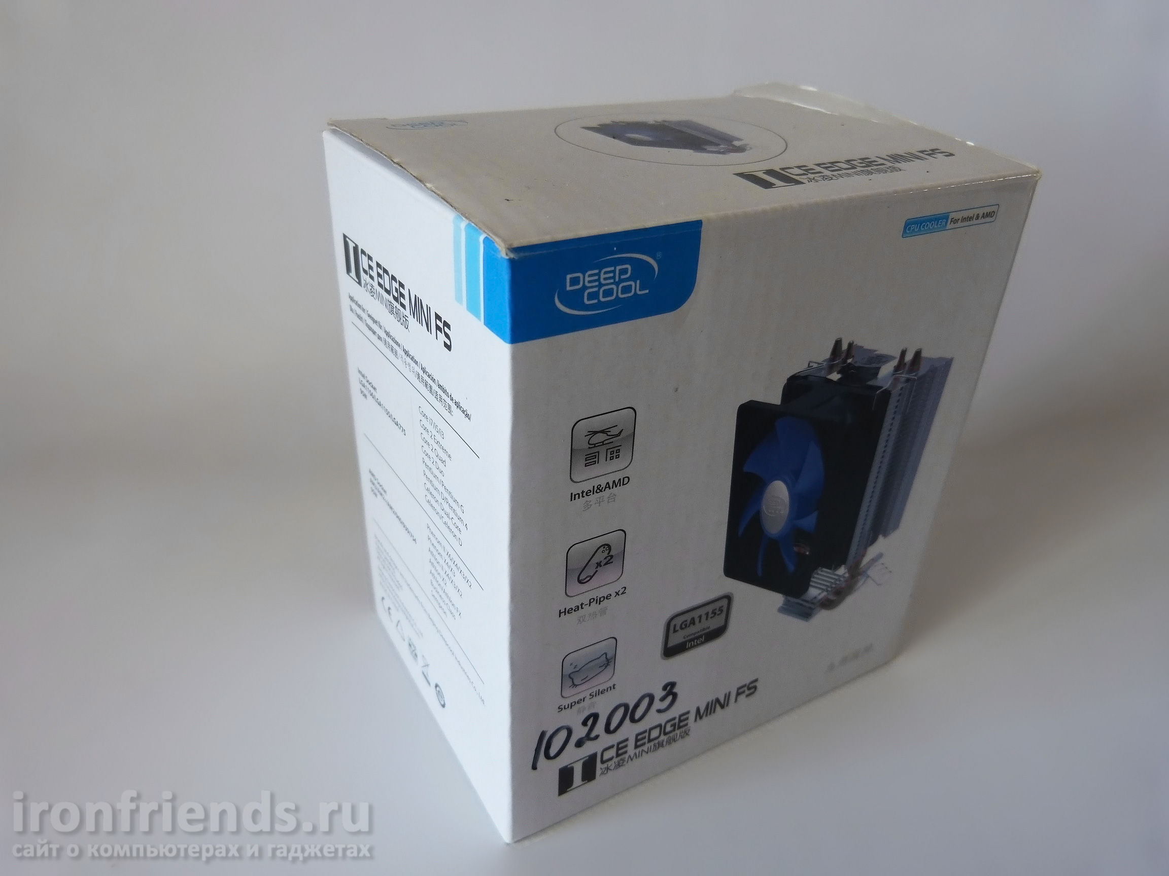 Упаковка Deepcool Ice Edge Mini FS