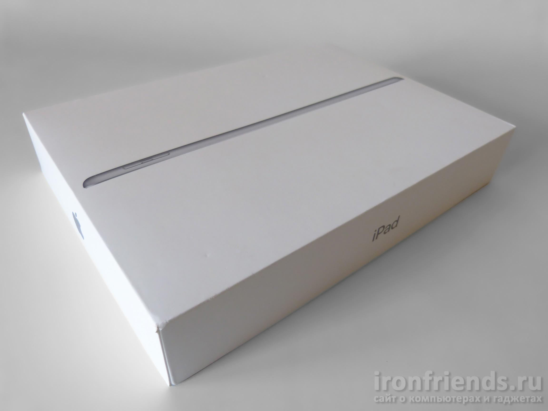 Упаковка iPad 2017