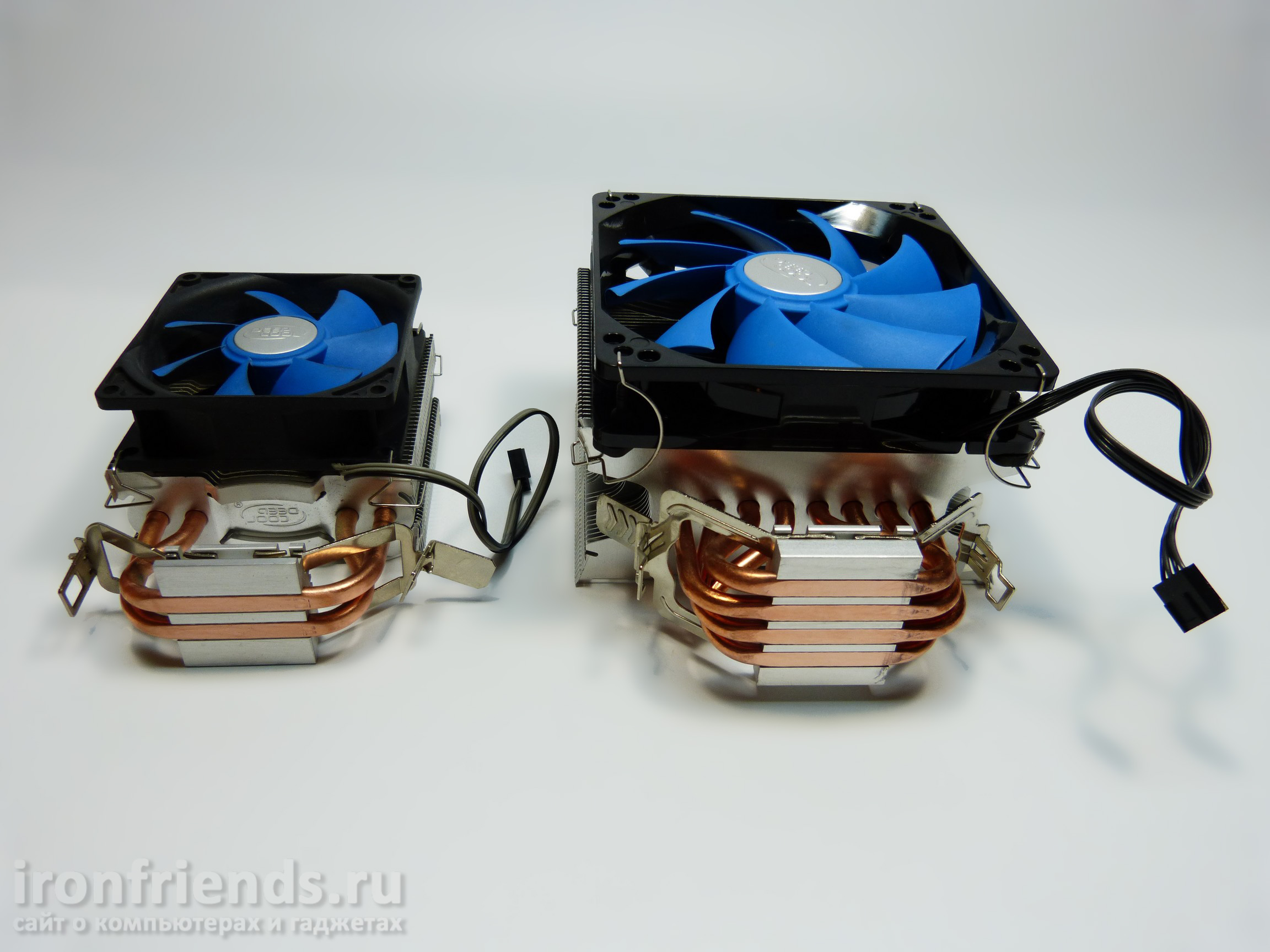 Сравнение Deepcool Ice Edge Mini FS и Ice Wind Pro