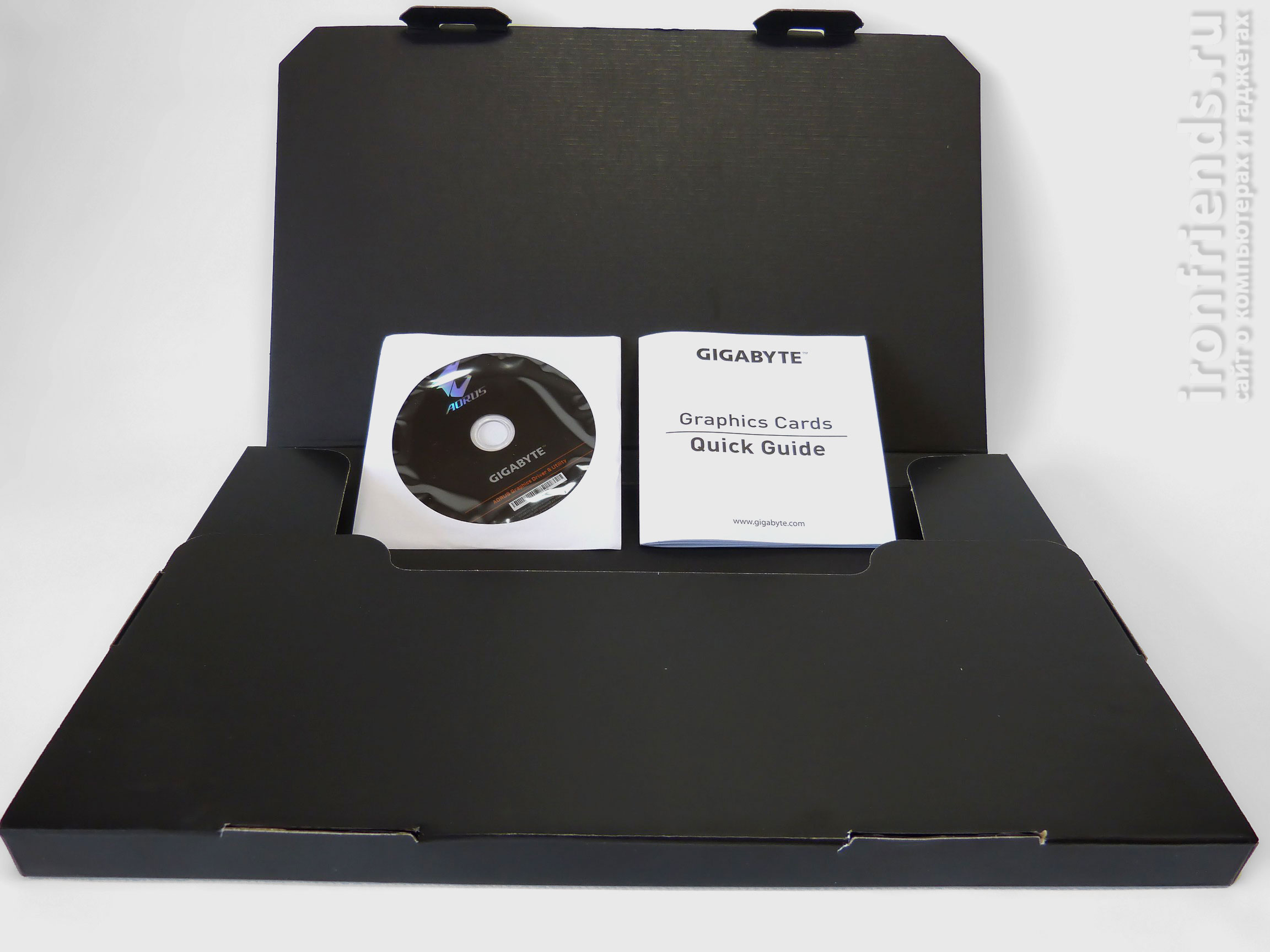 Комплектация Gigabyte GTX 1070 Ti Gaming 8G